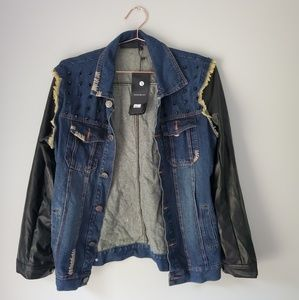 SALE❗ Givenchy x Dior distressed denim jacket